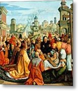 The Legend Of The Holy Cross Metal Print by Barthel Beham