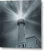 The Light House Metal Print by Svetlana Sewell