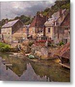 The Loir River Metal Print by Debra and Dave Vanderlaan
