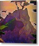 The Lone Cypress Metal Print by John Malone