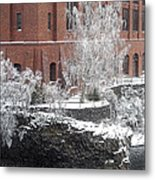 The Lone Sentinel - Spokane Washington Metal Print by Daniel Hagerman