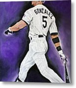 Carlos Gonzales Metal Print by Don Medina
