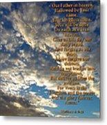 The Lords Prayer Metal Print by Glenn McCarthy Art and Photography