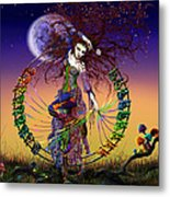 The Lover Metal Print by Kd Neeley