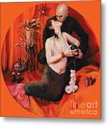 The Lovers Metal Print by Shelley Irish
