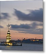 The Maiden's Tower  Metal Print by Ayhan Altun