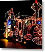 The Main Street Electrical Parade Metal Print by Benjamin Yeager