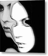 The Mask Metal Print by Gun Legler