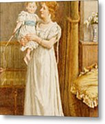 The Master Of The House Metal Print by George Goodwin Kilburne
