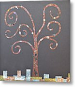 The Menoa Tree Metal Print by Angelina Vick