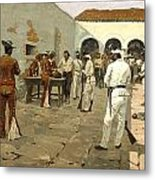 The Mier Expedition Metal Print by Fredrick Remington