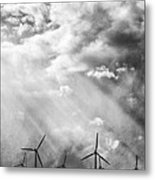 The Mighty Wind Palm Springs Metal Print by William Dey