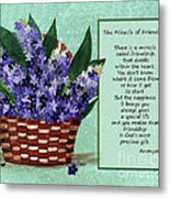 The Miracle Of Friendship Metal Print by Barbara Griffin