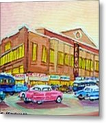The Montreal Forum Metal Print by Carole Spandau