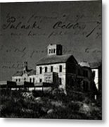 The Most Haunted House In Spain. Casa Encantada. Welcome To The Hell Metal Print by Jenny Rainbow