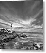The Motion Of The Lighthouse Metal Print by Jon Glaser