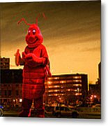 The Night Of The Lobster Man Metal Print by Bob Orsillo