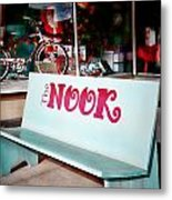 The Nook Metal Print by Charrie Shockey