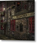 The Old Anchor Pub Metal Print by Erik Brede