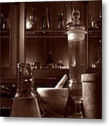 The Old Apothecary Shop Metal Print by Olivier Le Queinec