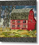 The Old Barn Metal Print by Jo Baner