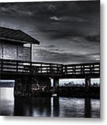 The Old Boat House Metal Print by Erik Brede
