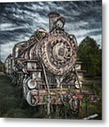 The Old Depot Train Metal Print by Brenda Bryant