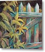 The Old Gate Metal Print by Candy Mayer