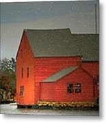 The Old Mill Kirby Pond Metal Print by Diana Angstadt