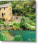 The Old Mill - North Little Rock - Pugh's Mill 1832 Metal Print by Gregory Ballos