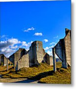 The Old Quarry At #18 - Chambers Bay Golf Course Metal Print by David Patterson