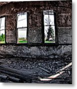 The Old Schoolhouse Metal Print by Kimberleigh Ladd