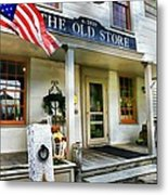 The Old Store Metal Print by Diana Angstadt