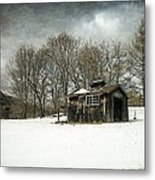 The Old Sugar Shack Metal Print by Edward Fielding