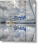 The Outer Pier Metal Print by John Adams