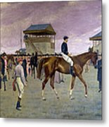 The Owner S Enclosure Newmarket Metal Print by Isaac Cullen
