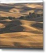 Harvest Hills Metal Print by Latah Trail Foundation