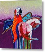 The Peacemakers Gift Metal Print by Joe  Triano