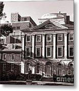 The Pennsylvania Hospital Metal Print by Olivier Le Queinec