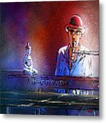 The Pianist 02 Metal Print by Miki De Goodaboom