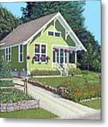 The Pickles House Metal Print by Gary Giacomelli