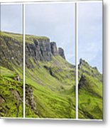 The Quiraing Triptych Metal Print by Chris Thaxter