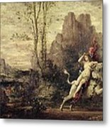 The Rape Of Europa Metal Print by Gustave Moreau