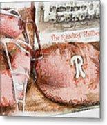 The Reading Phillies Metal Print by Trish Tritz