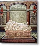 The Recumbent Robert E. Lee Metal Print by Mountain Dreams