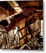 The Red Barn Of The Boeing Company II Metal Print by David Patterson