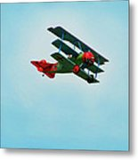 The Red Baron Metal Print by Thomas Young