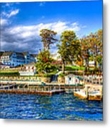 The Sagamore Hotel On Lake George Metal Print by David Patterson