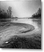 The Sands Of Time Metal Print by Davorin Mance