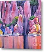 The Secret Cove Metal Print by Robert Hooper